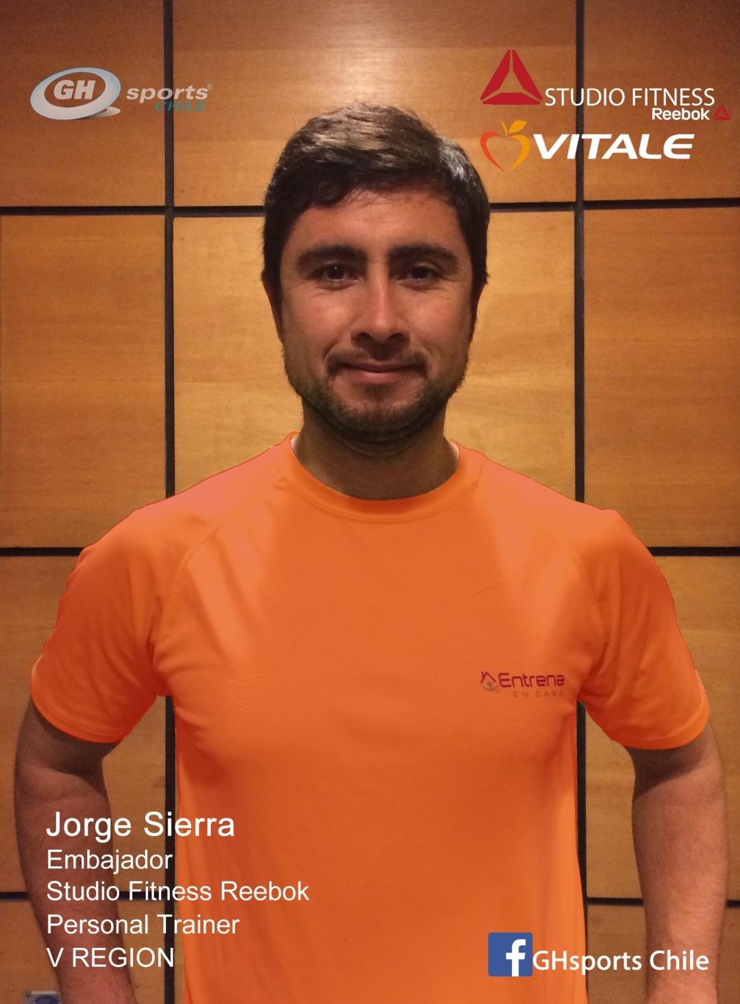 Jorge Sierra embajador